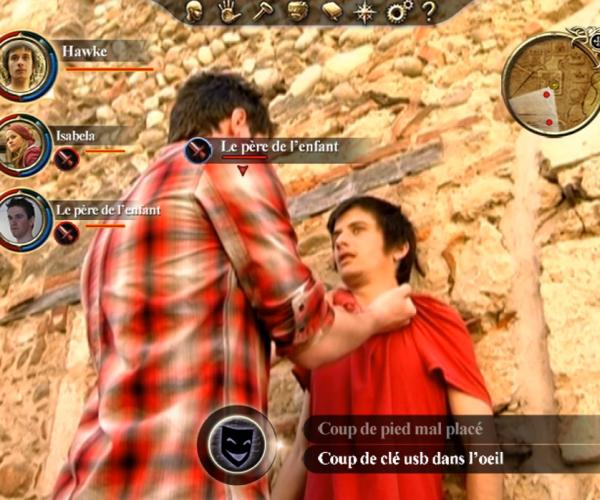"""Vidéo interactive à l'occasion de la sortie du jeu vidéo """"Dragon Age""""."""